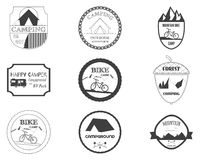 Set of retro badges and label logo graphics Stock Photo