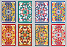 Set retro cards Royalty Free Stock Photo
