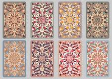 Set retro cards Royalty Free Stock Photo