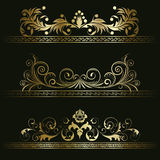 Set from retro frames Stock Photography