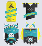 Set of Retro Labels and Badge Stock Photos
