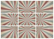 Vintage background. Set of retro pattern a vintage background. for montage your poster Royalty Free Stock Photos