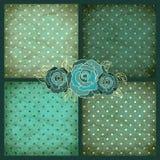 Set of retro vector pattern, eps10 Royalty Free Stock Image