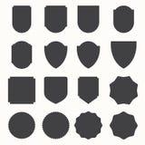 Set of retro vintage badges and labels royalty free illustration