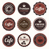 Set of retro vintage badges and labels Royalty Free Stock Image