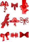 Set of ribbon Stock Photos
