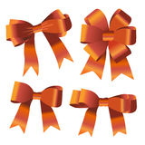 Set of ribbon bow Stock Photography