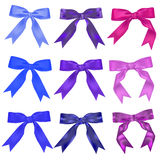 Set of ribbons Royalty Free Stock Photography