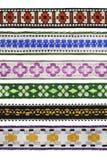 Set of ribbons Stock Photos