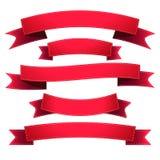 Set ribbons Royalty Free Stock Image