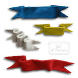 Set of Ribbons Royalty Free Stock Image