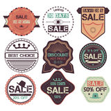 Set of Ribbons, Stickers, Labels. Vector.Set of Ribbons, Sticker Stock Photos