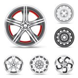 Set of rims Stock Images