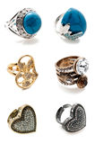 A set of rings Stock Photography