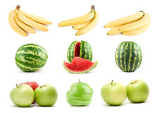 Set of ripe fruit Stock Image