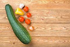 Set of ripe vegetables Stock Images