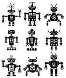 Set Roboter stock abbildung