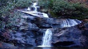Set Rock Creek Falls in North Carolina stock video footage