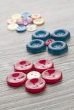 Set roczników guziki Zdjęcia Royalty Free