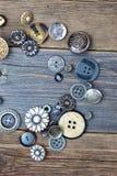 Set roczników guziki Obraz Royalty Free