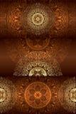 Set roczników kwieciści tła Ilustracji