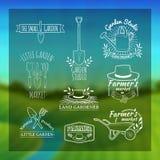 Set roczników retro logowie, odznaki, odznaki, etykietki ilustracji
