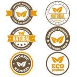 Set rocznika logo, etykietka, odznaka, logotyp ilustracja wektor