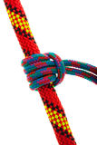 Set of rope knots Royalty Free Stock Photo