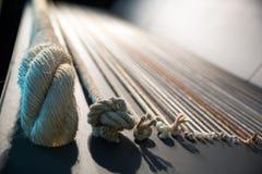 Set of ropes Stock Photo