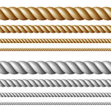 Set of ropes Stock Photography