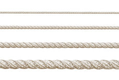 Set of ropes Stock Image