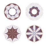 Set of rosettes Royalty Free Stock Photography
