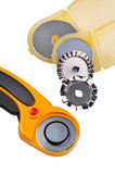 Set Rotary Cutter close up Royalty Free Stock Photo