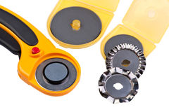 Set Rotary Cutter Stock Images