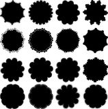Set of round template Stock Photo