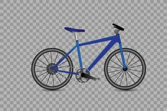 Set rower ikony Wektorowa ilustracja na przejrzystym tle royalty ilustracja
