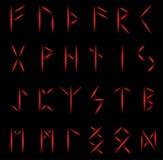 Set of runes Stock Photo