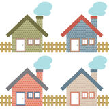 Set Of Rural Home Style Stock Photos
