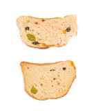 Set rusks isolated over the white background Stock Images