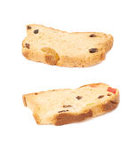 Set rusks isolated over the white background Stock Photography