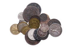 Set of Russia coins Stock Photography