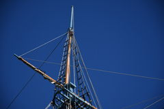 Ships Mast Isolated Stock Images