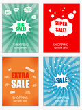 Set of sale banners template Stock Photos