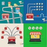 Set of Sale concepts Stock Photos
