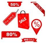 Set sale elements Stock Images