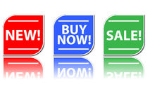 Set of sale icons Stock Photo