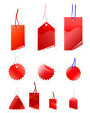 Set of sale tags Royalty Free Stock Photos