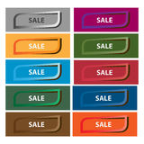 Set of sale tags Royalty Free Stock Images
