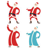 Set of Santa Claws and Moroz Royalty Free Stock Photography