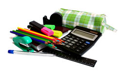 Set for school Royalty Free Stock Photo